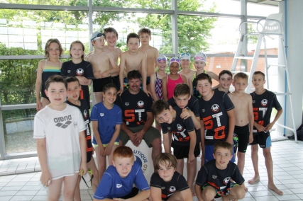 Ensemble des nageurs st-lois